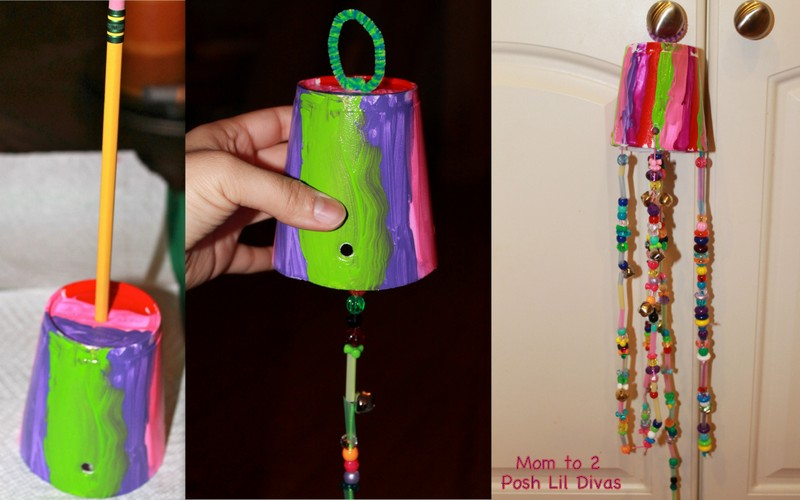 12 hang your wind chimes outside enjoy for Easy wind chimes
