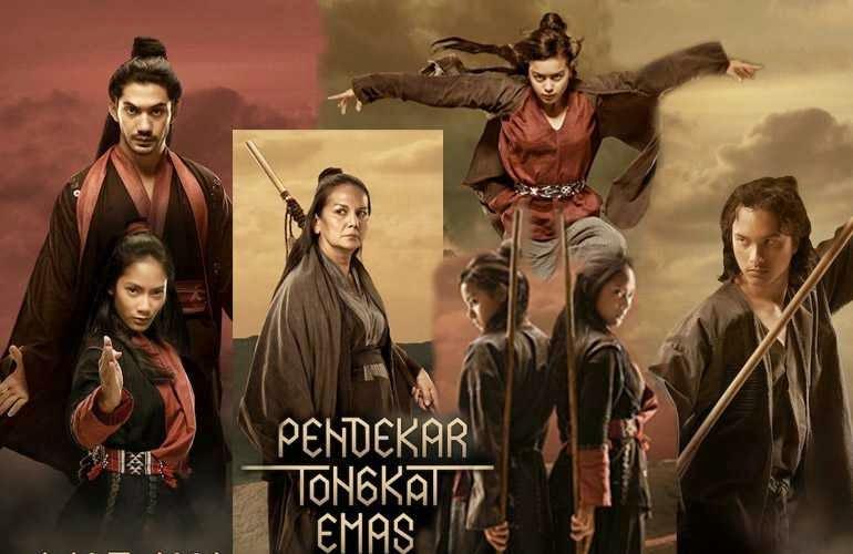 Info review Sinopsis film Pendekar Tongkat Emas (2014) Bioskop
