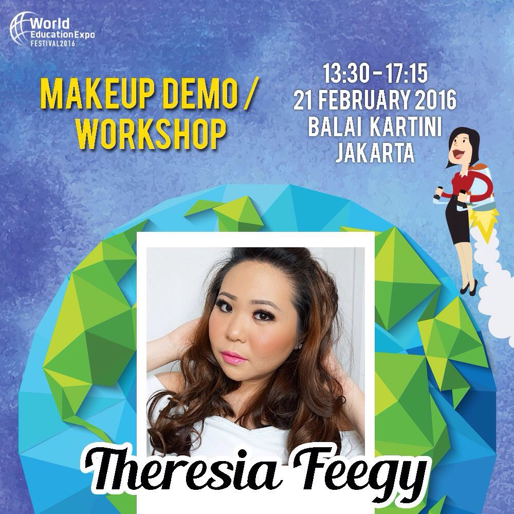 WEEFEST 2016 MAKEUP DEMO AND MAKEOVER