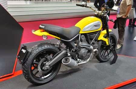 Ducati Scrambler terbaru 2015