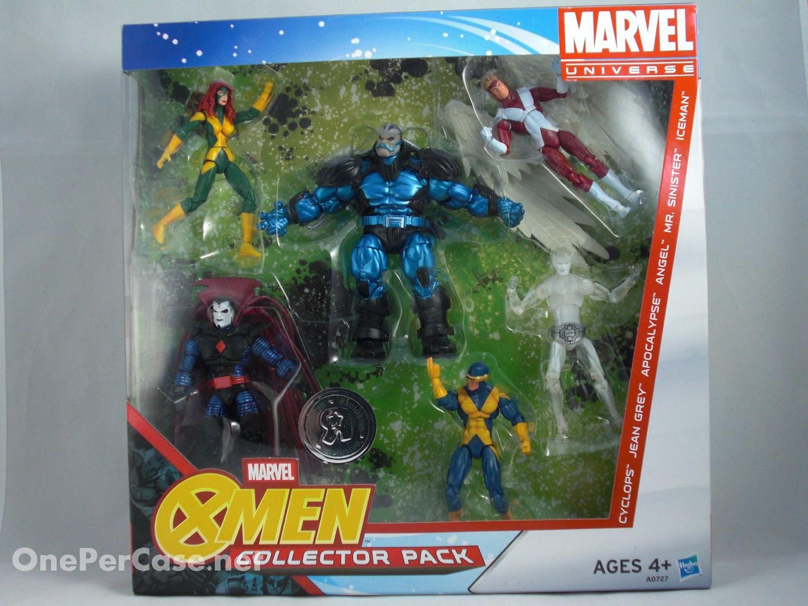 Marvel Toys R Us : One per case marvel universe factor men collector