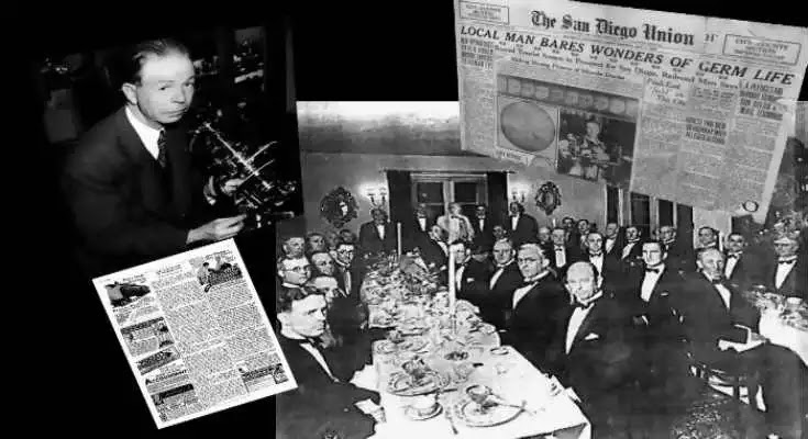 1934 – Ο περίεργος δείπνος, «το τέλος όλων των ασθενειών», ο ιός και ο καρκίνος
