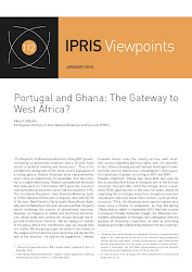 "Paulo Gorjo, ""Portugal and Ghana: The Gateway to West Africa?"" (CLICAR na imagem)."
