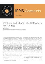 """Paulo Gorjão, """"Portugal and Ghana: The Gateway to West Africa?"""" (CLICAR na imagem)."""
