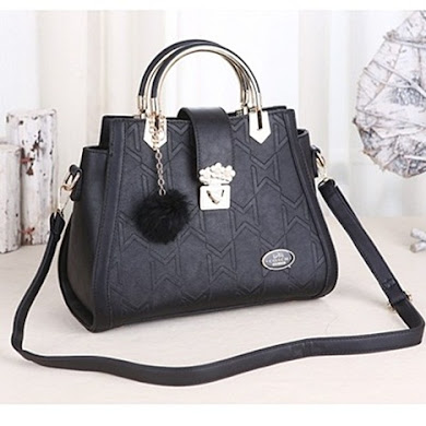 COACH DESIGNER BAG - BLACK