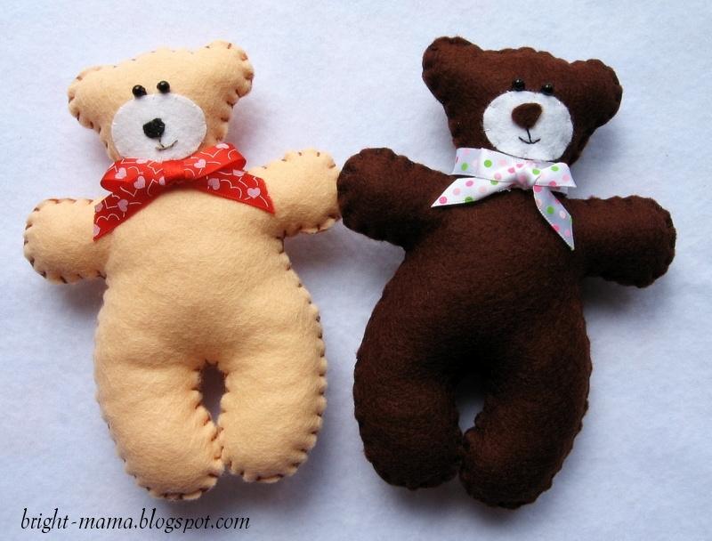 Медведь своими руками фото