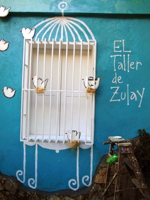El taller de Zulay.