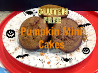 Pumpkin cupcakes on a plate