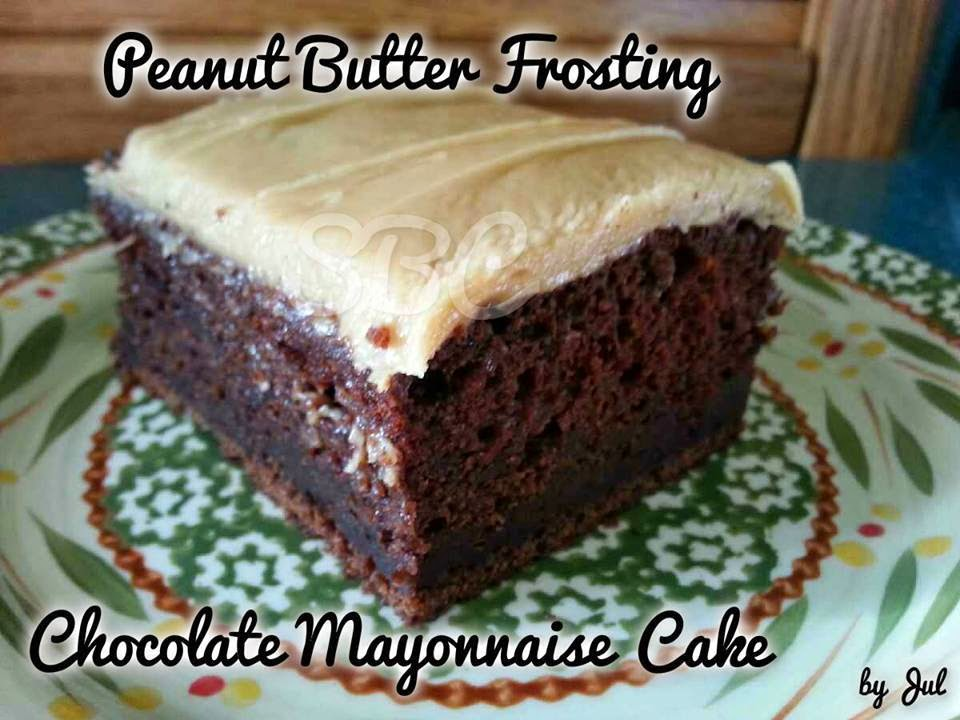 The Adventures of Belle West: Chocolate Mayonnaise Cake with Peanut ...