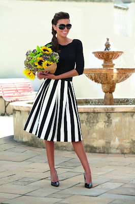 Debenhams Striped Ben de Lisi Skirt