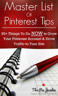 list of pinterest tips