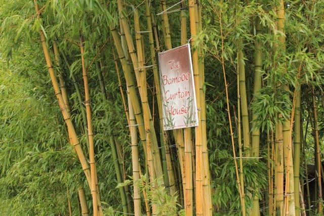 Bamboo Curtain House Man Seattle Chinese Garden