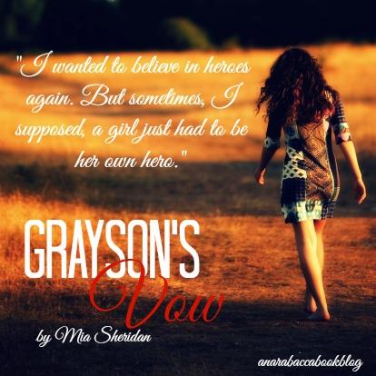 Pdf graysons vow