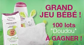 """Jeu """"Bébé 2012"""": 100 lots """"Doudous"""" à gagner"""