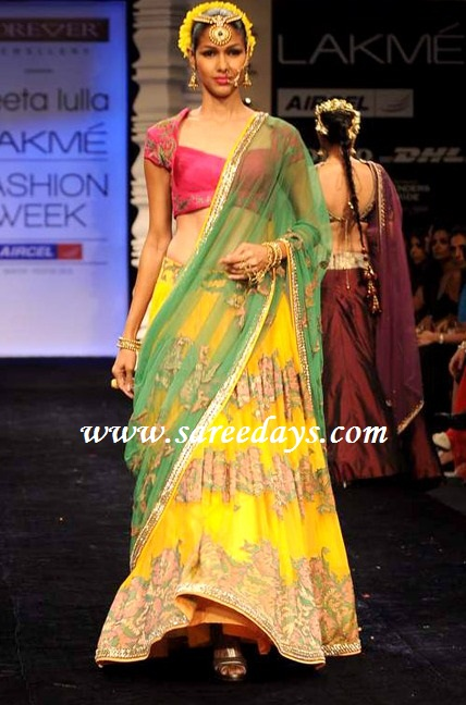 simple lehenga designs by neeta lulla wwwimgkidcom