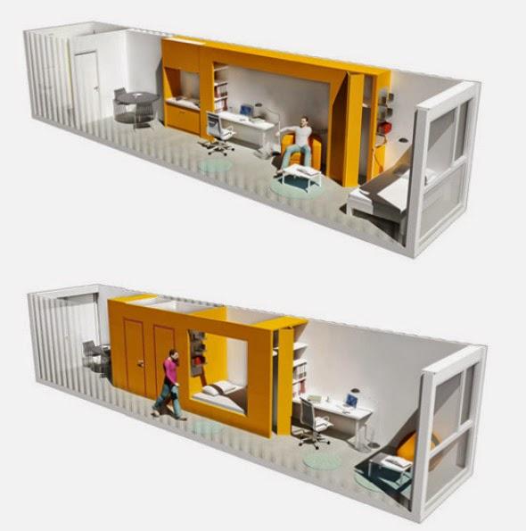Apuntes revista digital de arquitectura es posible - Contenedores maritimos para vivienda ...