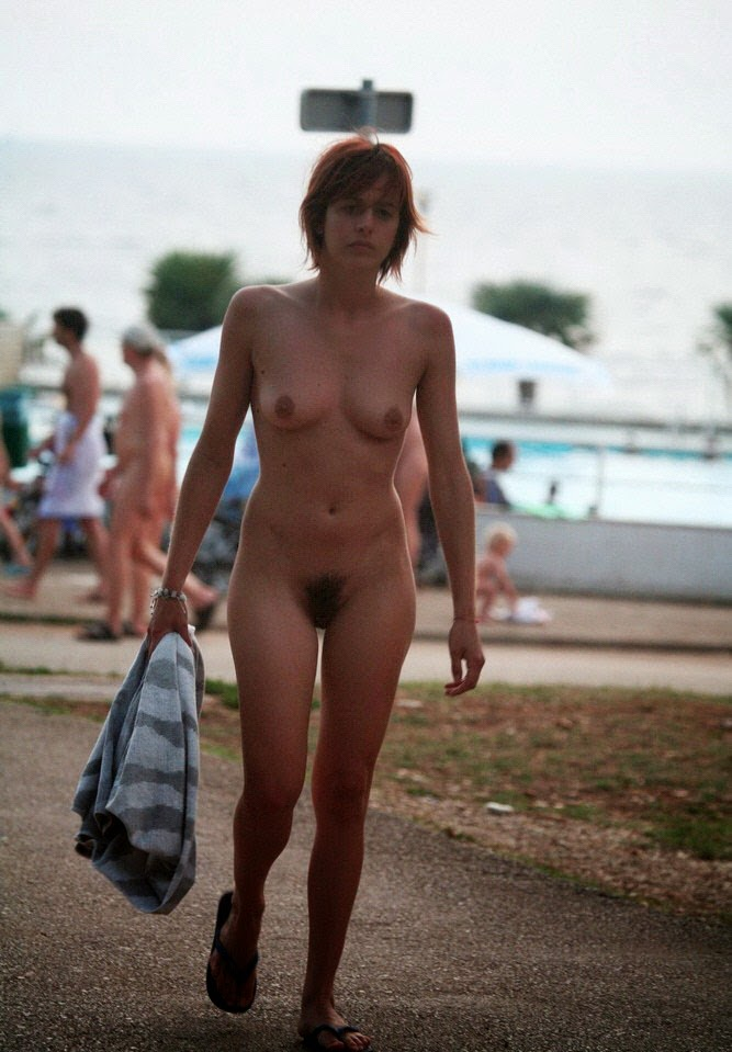 With Croatia nudist family