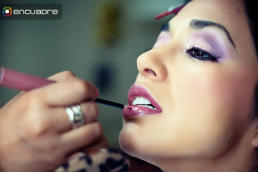 fotos novia maquillaje