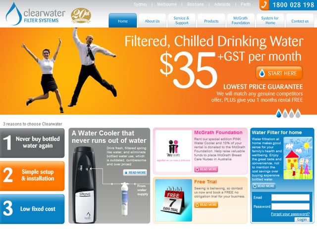 ClearWaterFilters.com.au