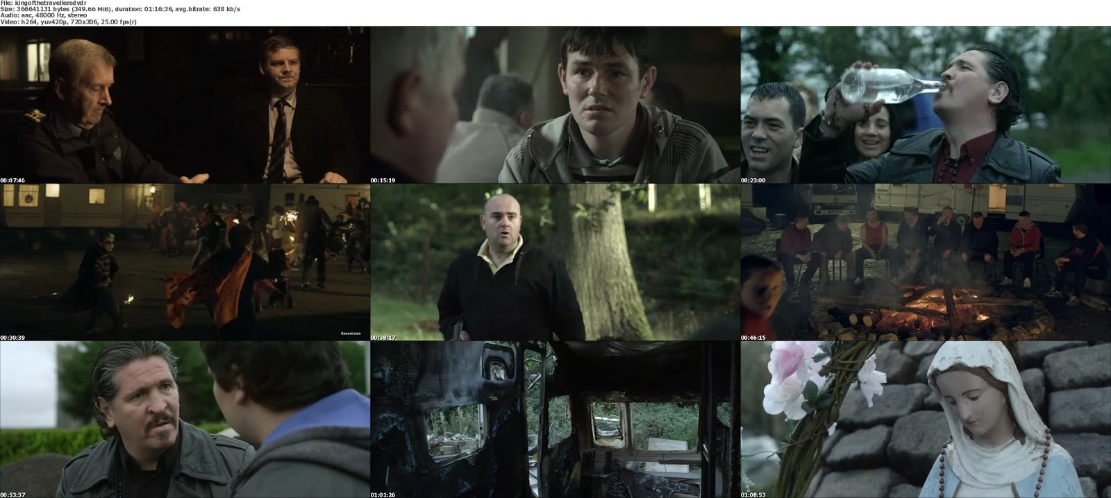 movie screenshot of King of the Travellers fdmovie.com