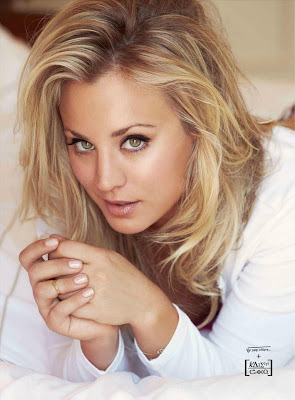 Kaley Cuoco so very sexy and hot for Esquire Magazine Mexico October 2012 issue