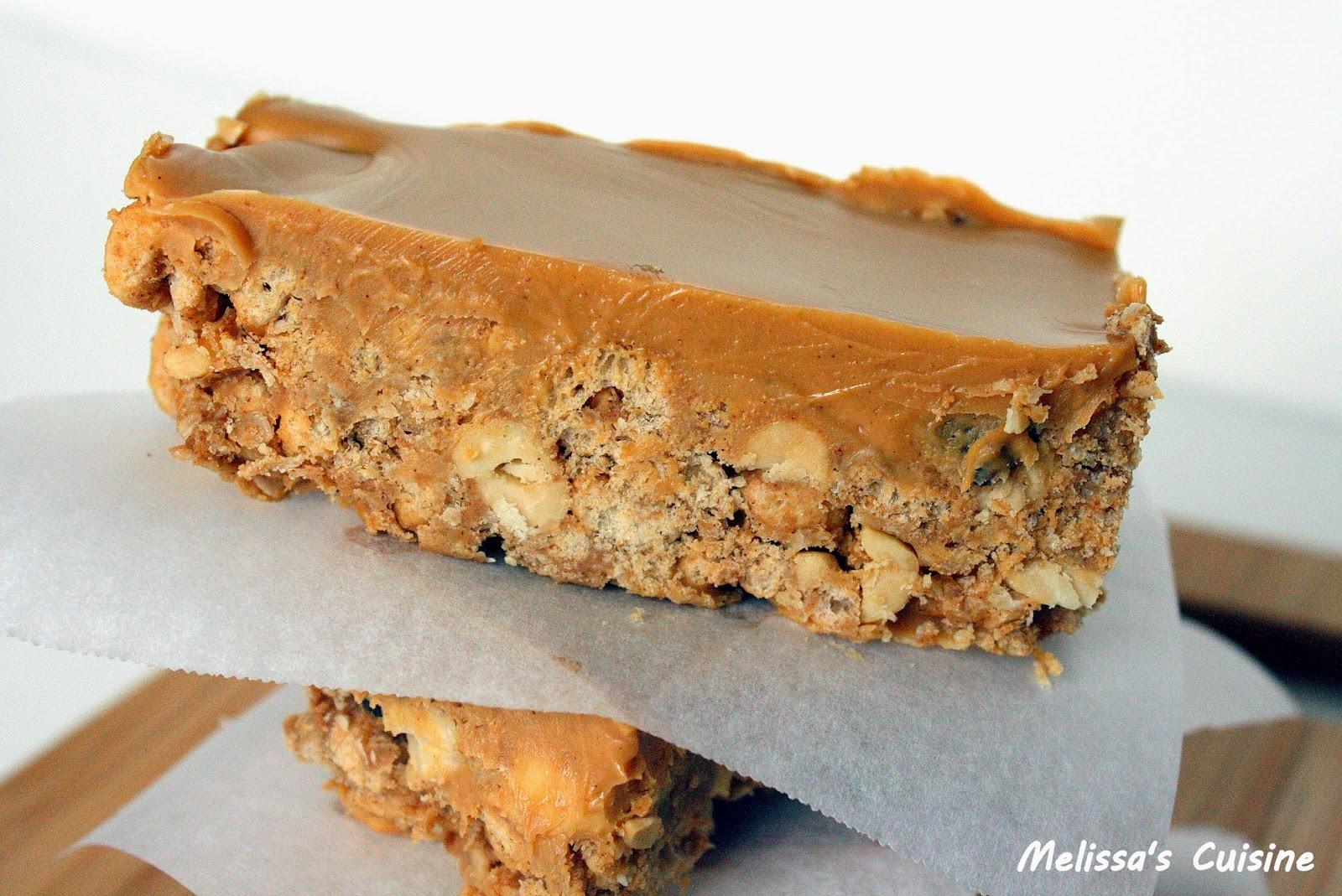 Melissa's Cuisine:  Sweet and Salty Peanut Granola Bars
