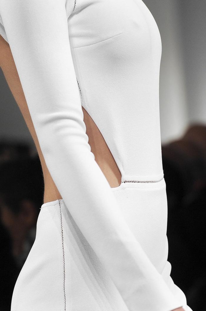 indossare il bianco