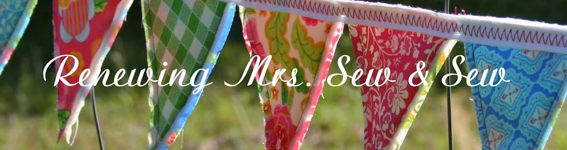 Renewing Mrs. Sew & Sew