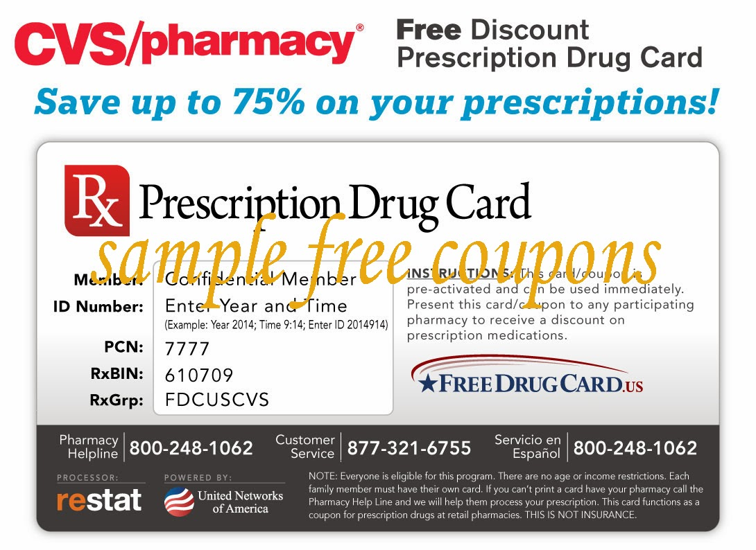 Discount drug coupons