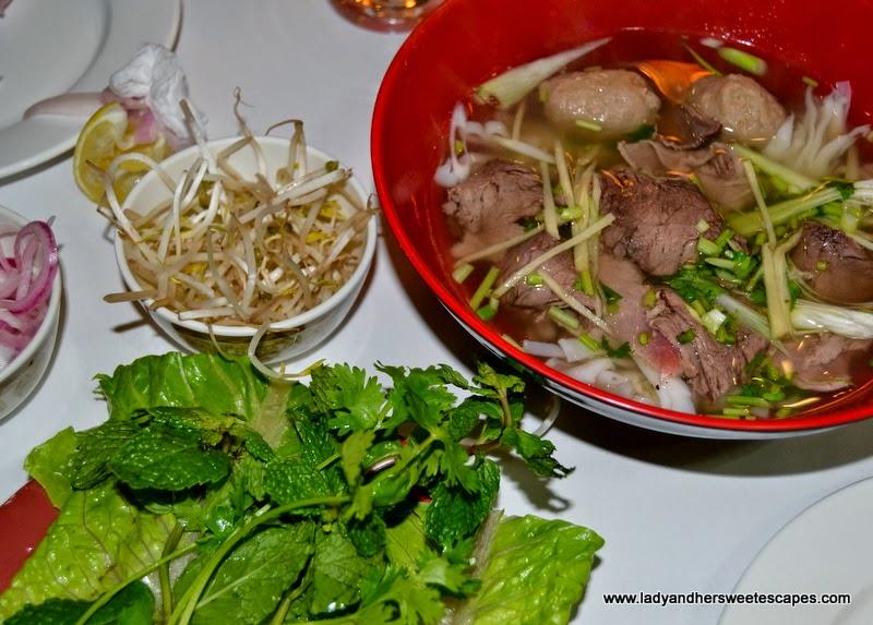 Hanoi Naturally special pho