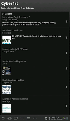 Cyber4rt Android Launcher