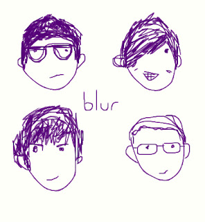 blur comic, blur sketch, blur meme, blur art, blur band, blur cute