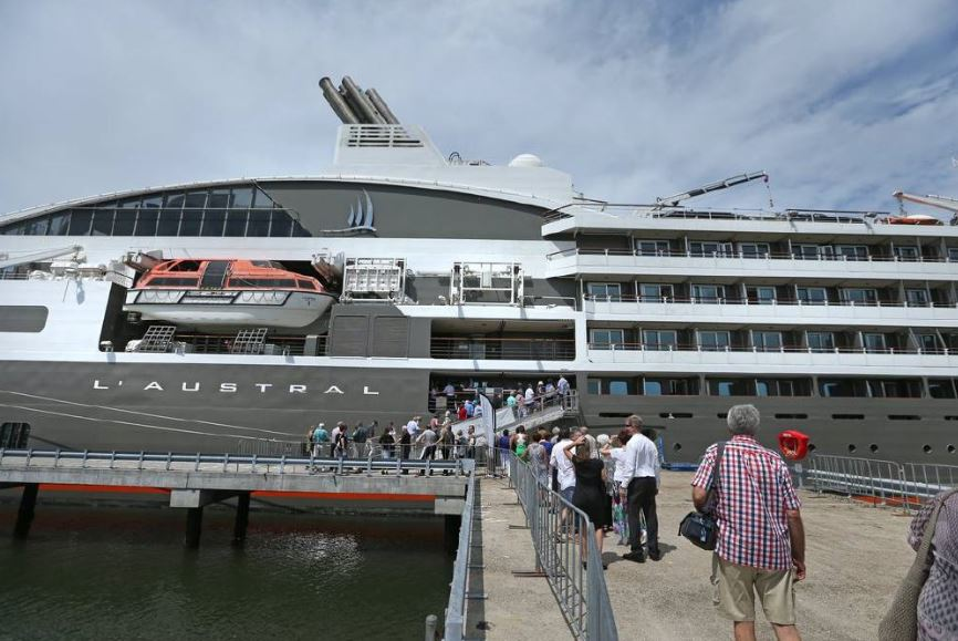Ponant Plans First Season in Australia