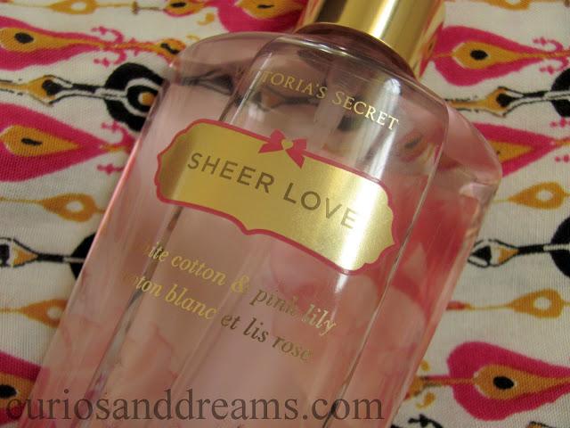 Victoria's Secret Sheer Love Body Mist review, Victoria's Secret Sheer Love Body Mist
