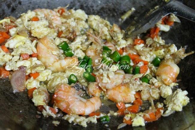 Nasi Goreng Cina Yang Sedap - Azie Kitchen