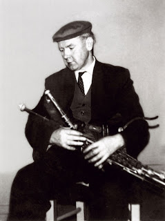 Willie Clancy in the mid-1960s (Mick O'Connor)