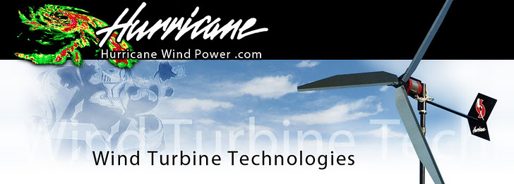 HURRICANE WIND POWER WIND TURBINE TECHNOLOGIES LLC