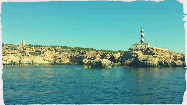 lighthouse, sea, Mallorca, Megalluf, Denizfeneri, Mayorka Tatili, İspanya'da Ada Tatili