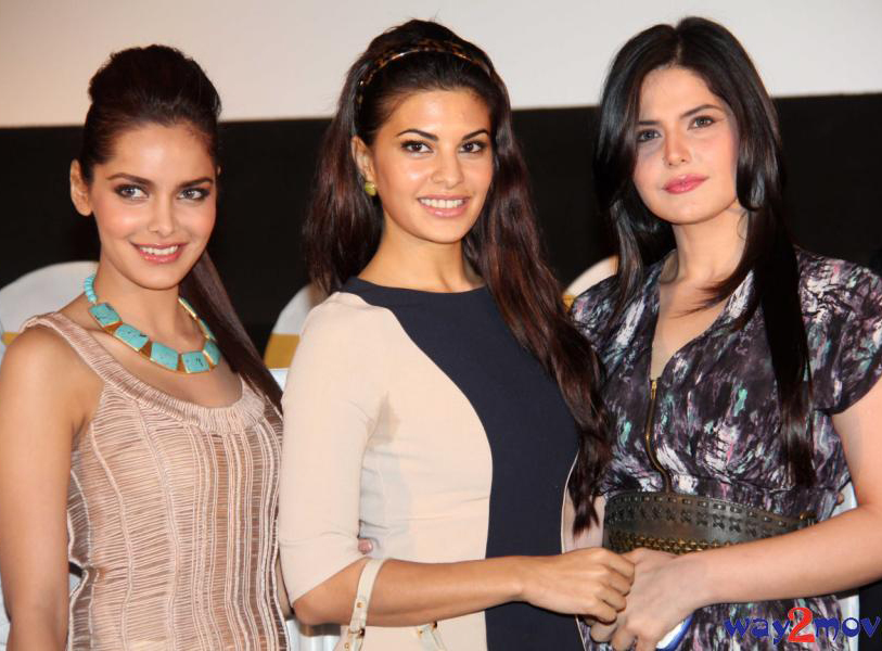 Housefull 2 Press Meet1 - Housefull 2 Movie First Look Launch - Zarine, Jacquiline, Shahzahn