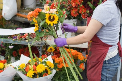 Service with a smile more what your florist can do for you