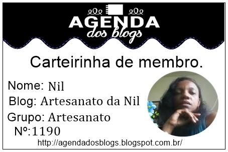 Faço parte da agenda do blog,com muito orgulho.