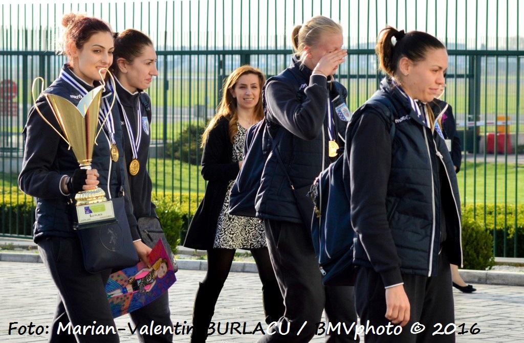 VOLEI / CHALLENGE CUP 2015/2016: CSM Bucuresti a adus acasa trofeul cucerit in Turcia (III)