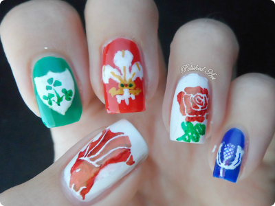 British-Irish-Lions-2013-rugby-union-australia-nail-art-sharpie