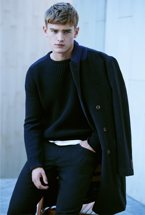 bo develius, HE by Mango, look book november