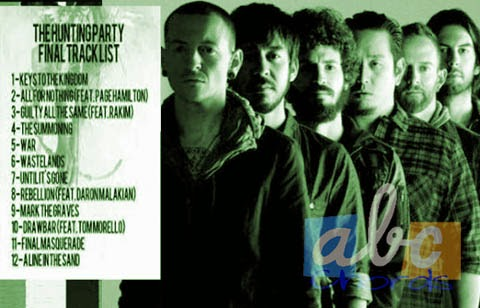 """The Hunting Party"" Tracklist New Album Linkin Park"