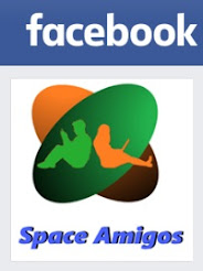 Curta Space Amigos no facebook