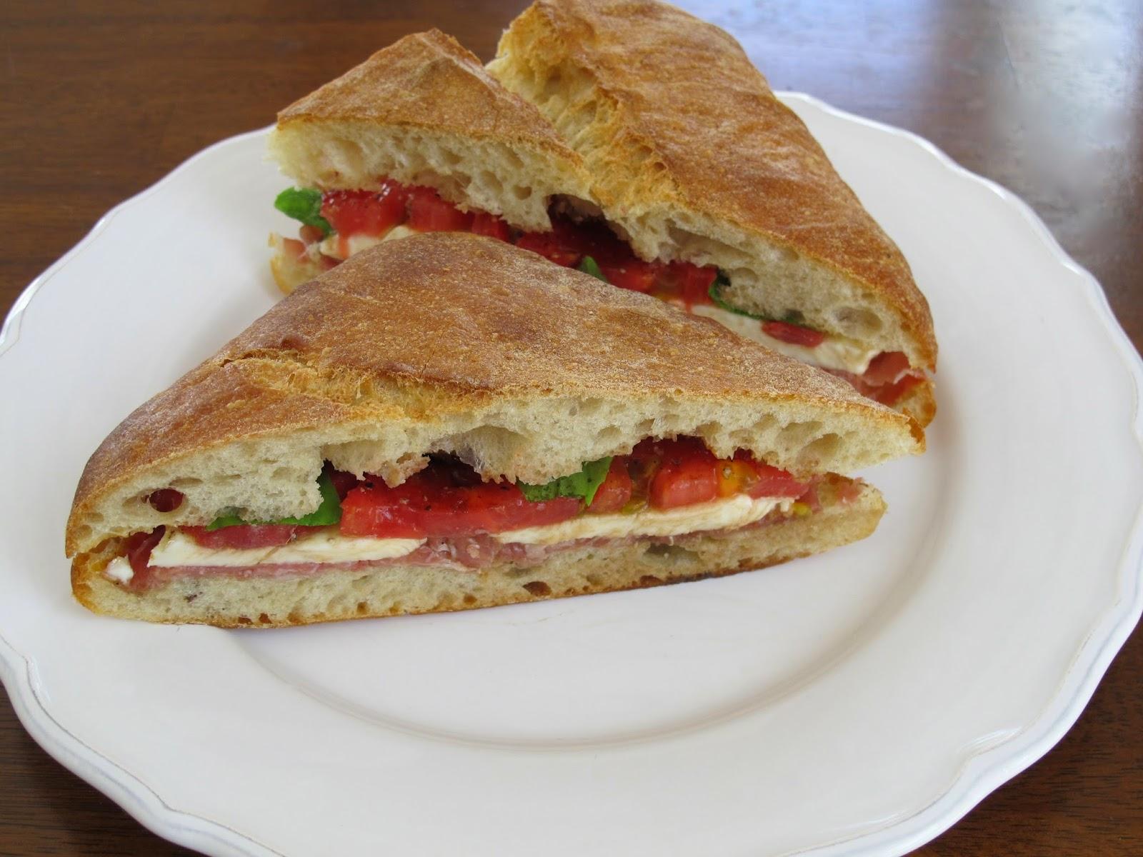 Prosciutto Caprese Sandwich