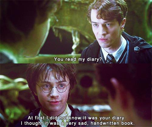 Harry Potter - A Very Sad ,Handwritten Book