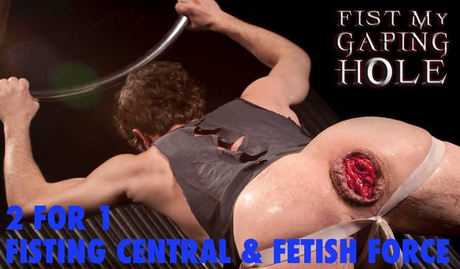 2for1 fisting central + fetish force
