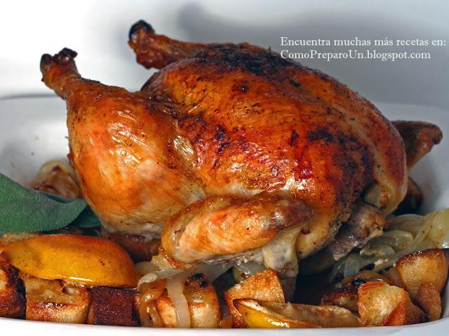 Receta del pollo al horno peruano